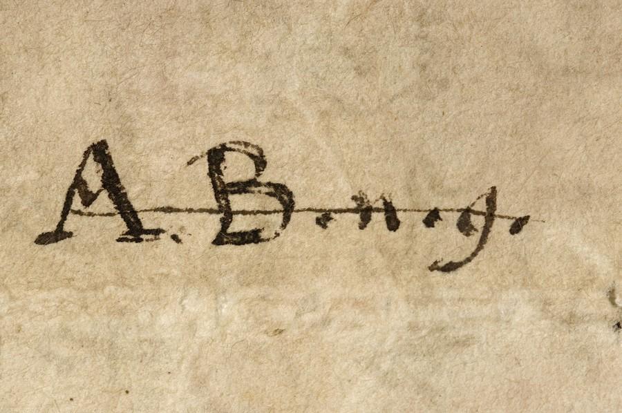 Cote alphanumérique  de la fin du XVIIe s.